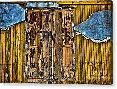 Textured Wall Acrylic Print by Ray Laskowitz - Printscapes