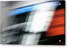 Acrylic Print featuring the photograph TGV by Steven Huszar