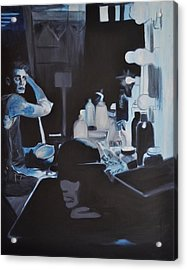 Th Show Must Go On Acrylic Print by Mitchell Todd