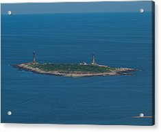Acrylic Print featuring the photograph Thacher Island Lights by Joshua House