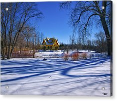 Thai Pavillion - Madison - Wisconsin IIi Acrylic Print by Steven Ralser