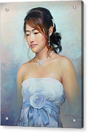 Thai Woman Acrylic Print