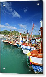 Thailand, Koh Phangan Acrylic Print by William Waterfall - Printscapes