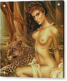 Thais Acrylic Print by Arthur Braginsky