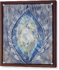 Thalassa Goddess Of The Sea Acrylic Print by Elizabeth Comay