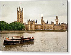 Acrylic Print featuring the photograph Thames by Keith Armstrong