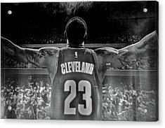Thanks Lebron Acrylic Print by Frozen in Time Fine Art Photography