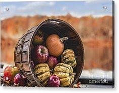 Thanksgiving Harvest Basket Acrylic Print