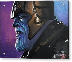 Thanos Acrylic Print by Tom Carlton