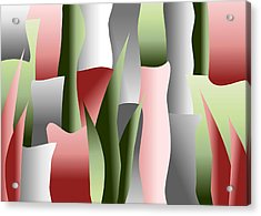 That Crimson Glow Acrylic Print by Tara Hutton