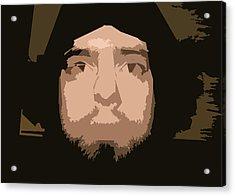 That Guy Again Acrylic Print by Joshua Sunday
