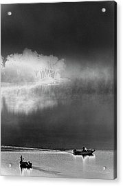 That Island There Acrylic Print by Steven Huszar