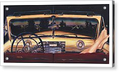 That Night On Walters Hill Acrylic Print by Mike Hill