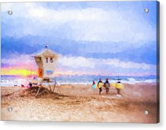 That Was Amazing Watercolor Acrylic Print