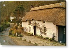 Thatched Cottage By Ford  Acrylic Print
