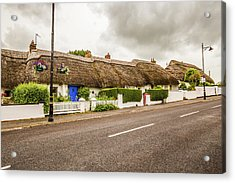 Thatched Cottages Acrylic Print
