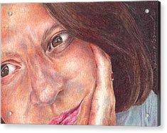 That's Me  Acrylic Print by Melissa J Szymanski