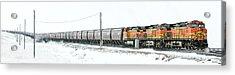 The 11 15 Panorama Acrylic Print by Todd Klassy