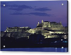 The 17th-century Fortress Of San Felipe Acrylic Print by O. Louis Mazzatenta