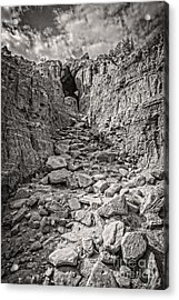 The 23rd Psalm Acrylic Print by Charles Dobbs