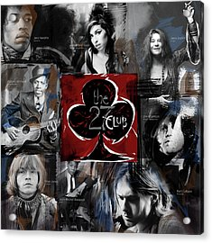 The 27 Club Acrylic Print