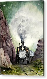 The 413 Acrylic Print by Sam Sidders