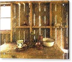 The Abandoned Cabin Acrylic Print