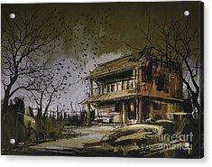 The Abandoned House Acrylic Print