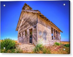 The Abandoned School House Acrylic Print by Spencer McDonald