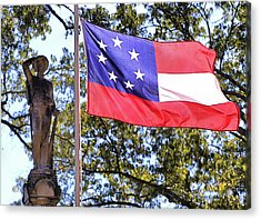 The Aberdeen Confederate Memorial Acrylic Print by JC Findley