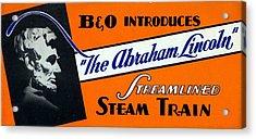 The Abraham Lincoln Acrylic Print