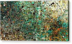 The Abstract Concept Acrylic Print