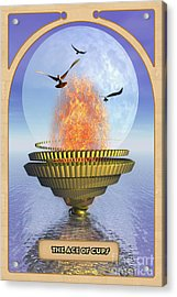 The Ace Of Cups Acrylic Print by John Edwards