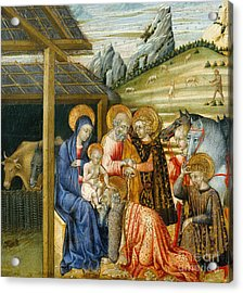 The Adoration Of The Magi Acrylic Print