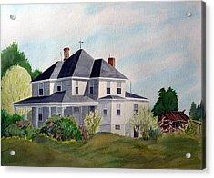 The Adrian Shuford House - Spring 2000 Acrylic Print by Joel Deutsch