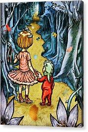 The Adventurers Acrylic Print by Baird Hoffmire