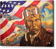 The Airman Acrylic Print