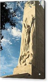 The Alamo Cenotaph Acrylic Print