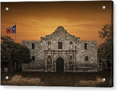 The Alamo Mission In San Antonio Acrylic Print