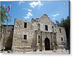 The Alamo Texas Acrylic Print