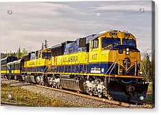 The Alaska Railroad Acrylic Print