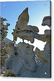 The Alien At Fantasy Canyon Acrylic Print by Jeff Brunton