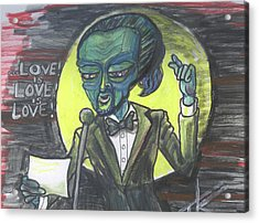 The Alien Lin-manuel Miranda Acrylic Print