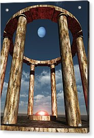 The Aligning Of Neptune Acrylic Print by Richard Rizzo