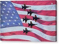 The All American Team Acrylic Print