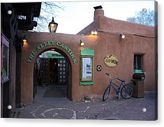 The Alley Cantina Acrylic Print
