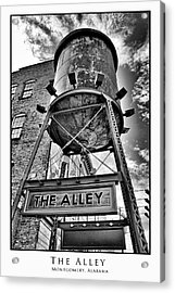 Acrylic Print featuring the digital art The Alley  by Greg Sharpe