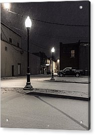 Acrylic Print featuring the photograph The Alley by Kendall McKernon