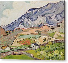 The Alpilles Acrylic Print by Vincent Van Gogh