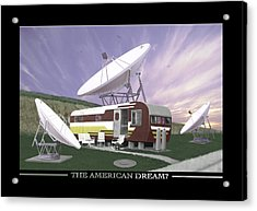 The American Dream Acrylic Print by Mike McGlothlen